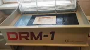 Popieriaus liejimo mašina